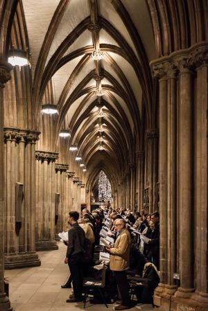 A Service of Nine Lessons and Carols - 18th December 2016.